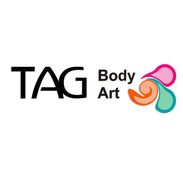 Colour palette of 12 essential face paint colours regular 10g each by TAG
