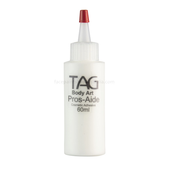 Pros-Aide cosmetic adhesive body glue 60ml refill bottle (TAG)