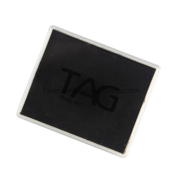 TAG face paint Australia 50g black rectangle regular