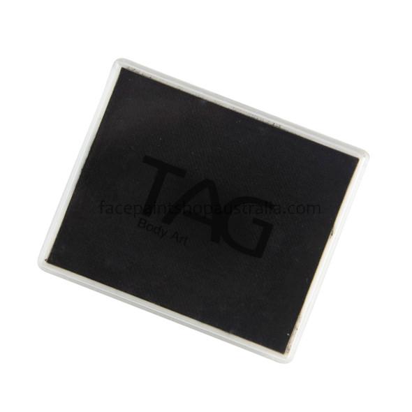 TAG face paint Australia 50g black rectangle regular