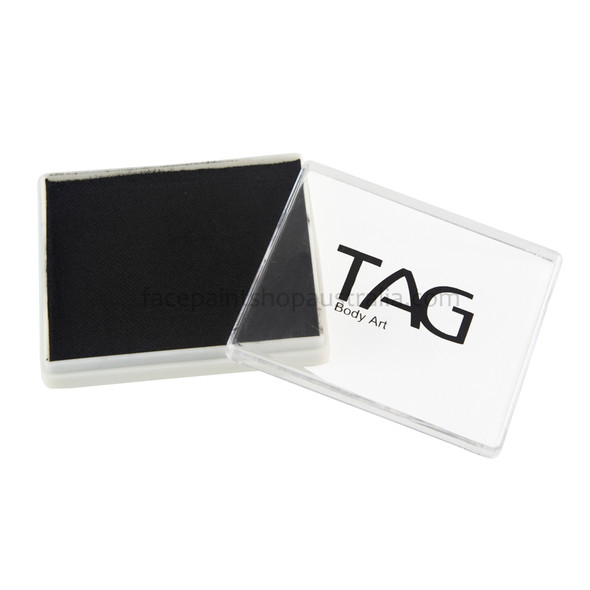 BLACK face paint by TAG Body Art 50g [regular]