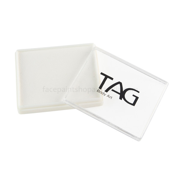 TAG face paint Australia 50g white rectangle regular