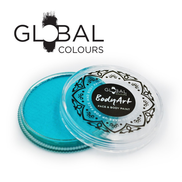 Global Colours face paint Australia will bring your face painting ideas to life to create amazing face paint designs kids and adults will love. teal face paint 32g