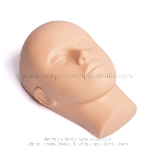 Face Painter's Practice Head - Silicon