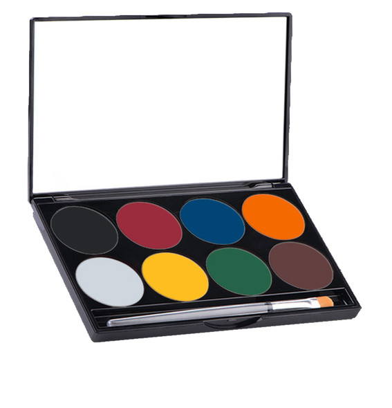 BASIC Mehron Paradise Makeup AQ™ Palette 8 Colours