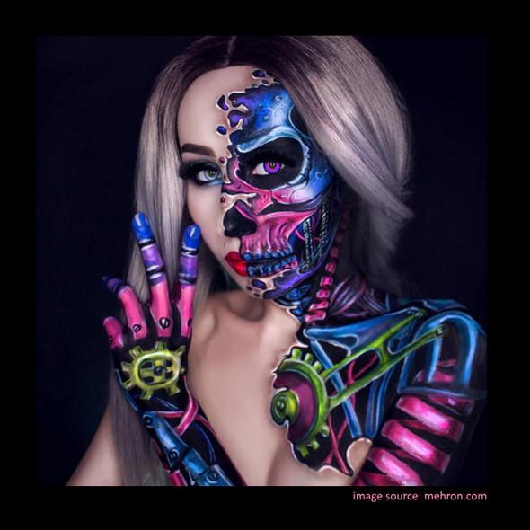 BRILLIANT Mehron Paradise Makeup AQ™ Palette 8 Colours