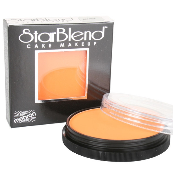 ORANGE Starblend Powder by Mehron Cake Makeup 56g