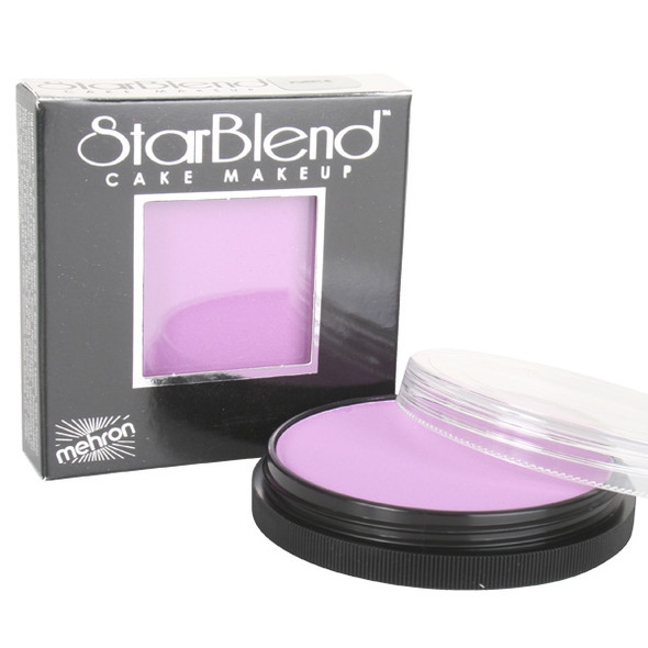 PURPLE Starblend Powder by Mehron Cake Makeup 56g