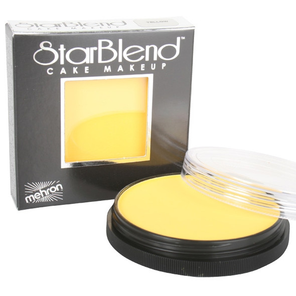 YELLOW Starblend Powder by Mehron Cake Makeup 56g
