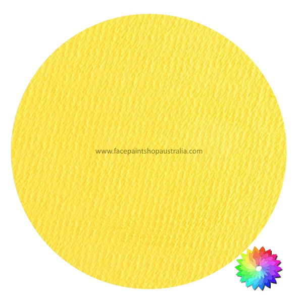 #102 PASTEL YELLOW Superstar AQUA Face and Body Paint 16g