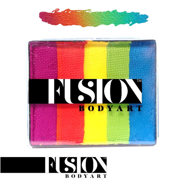 RAINBOW JOY by Fusion Body Art face paint 50g