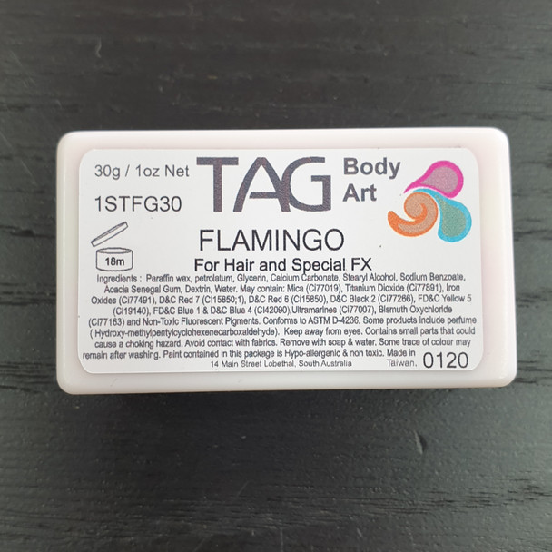 FLAMINGO one-stroke face paint by TAG Body Art 30g