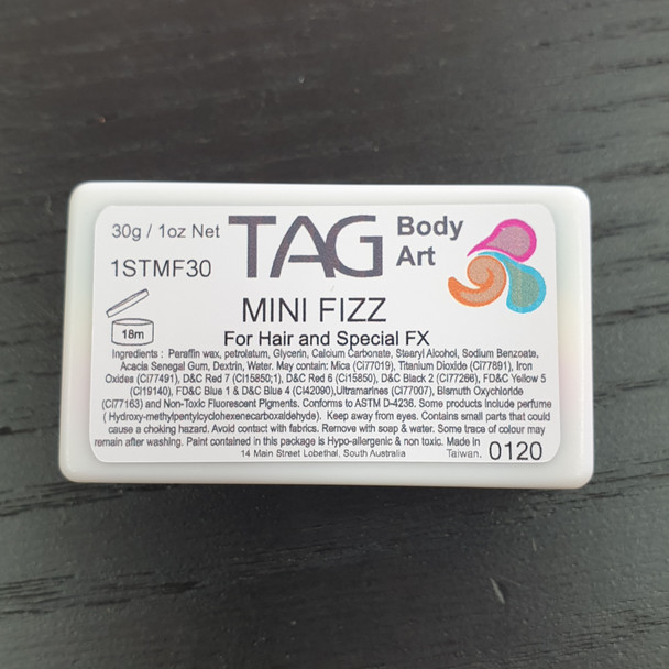 MINI FIZZ one-stroke face paint by TAG Body Art 30g