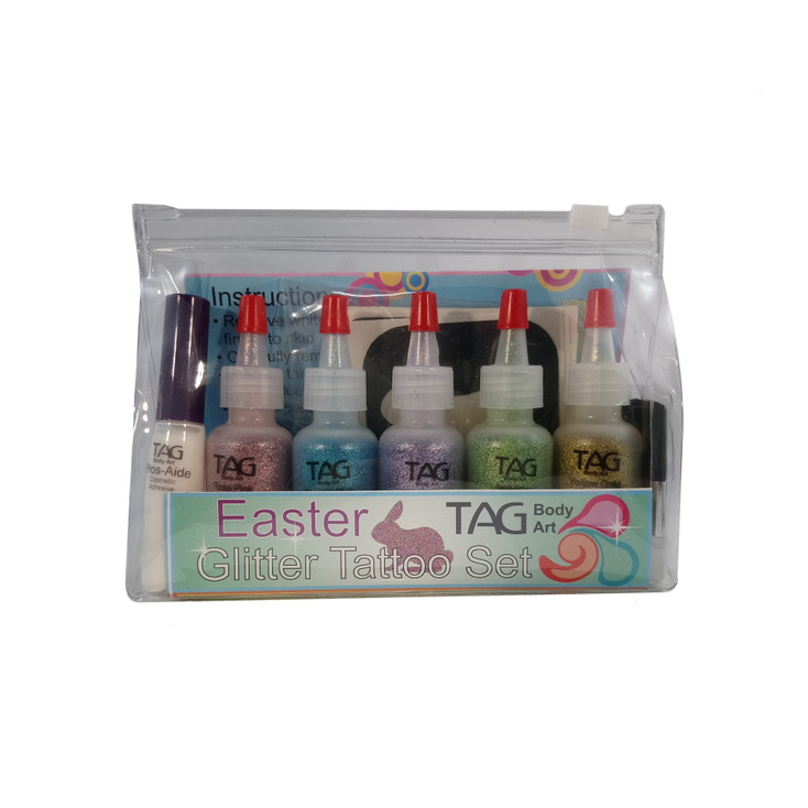 EASTER Glitter Tattoo Party Kit by TAG Body Art