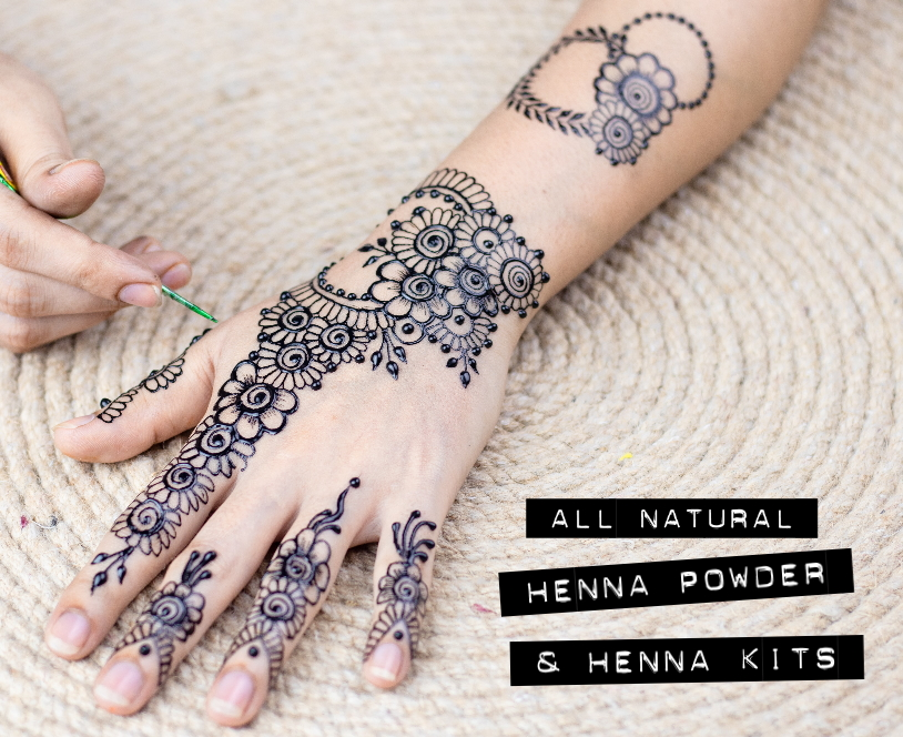 natural henna body art kits