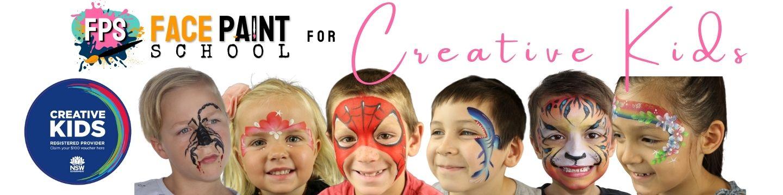 nsw creative kids face paint kits