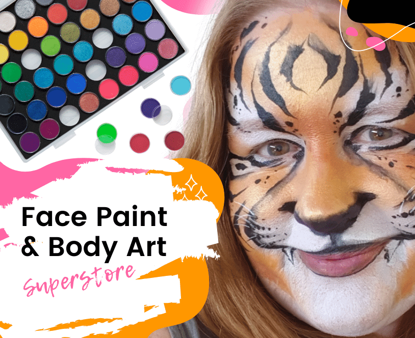 face paint warehouse shop all