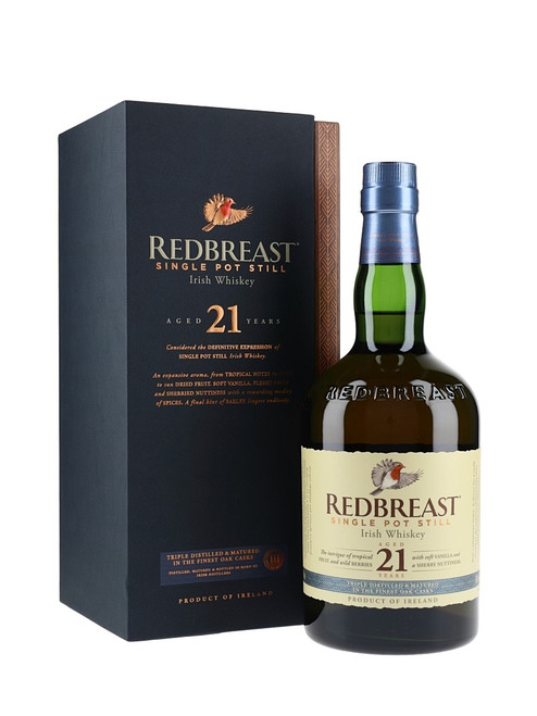 Redbreast 21yr Old Single Pot Still (Irish Whiskey of the Year 2014 & 2015)
