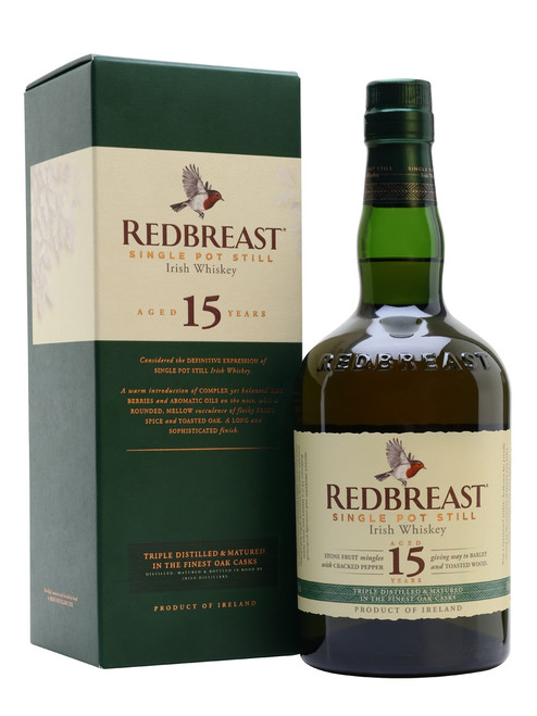 Redbreast 15yr Old Single Pot Still