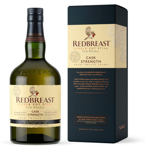 Redbreast 12yr Old Single Pot Still Cask Strength