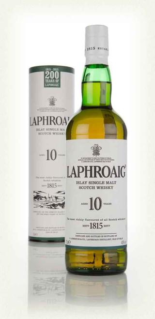 Laphroaig 10yr Old Islay Single Malt 700ml