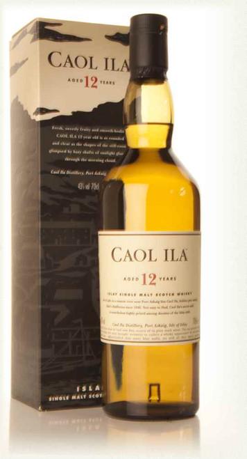 Caol Ila 12yr Old Islay Single Malt