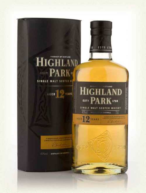 Highland Park 12yr Old Single Malt