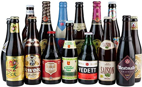 Belgian Beer Selection