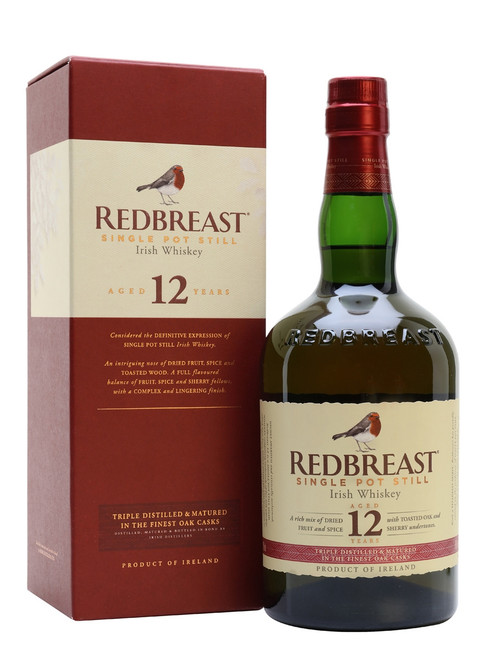 Redbreast 12yr Old Single Pot Still