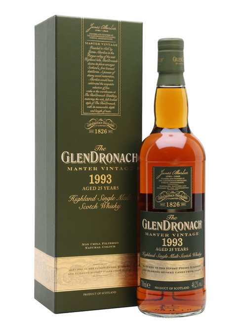 Glendronach 1993 25 Year Old Master Vintage