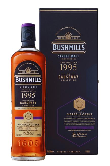 Bushmills 1995 Marsala Casks Causeway Collection