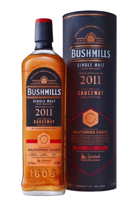 Bushmills 2011 Sauternes Casks Causeway Collection