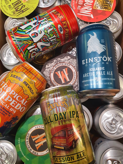 International Craft Beer Mixed Box (12 x 330ml Cans)
