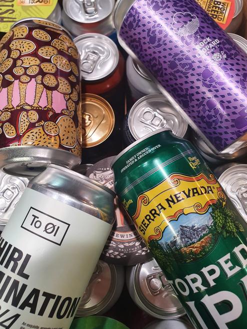 International Craft Beer Mixed Box (24 x 440ml Cans)