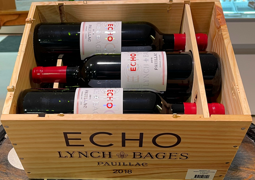 6 Bottles Echo de Lynch-Bages 2018 (In Own Timber Box)