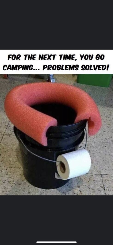 Toilet Paper camping solution