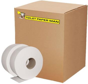 Jumbo Roll Toilet Paper - 2ply 250 Metre - 8 Rolls of Jumbo Toilet Paper - Buy Bulk jumbo toilet paper online.