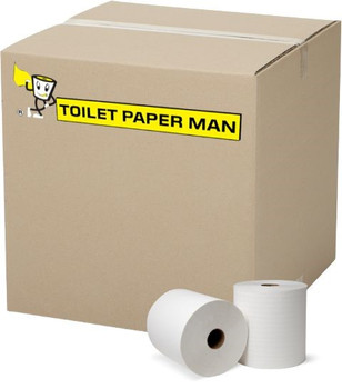 King Toilet Paper - 2ply 700 Sheets per Roll - 96 Rolls of Toilet Paper - Buy Bulk jumbo toilet paper online.