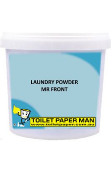 Toilet Paper Man - Laundry Powder - Mr. Front - 12.5 kg Bucket
