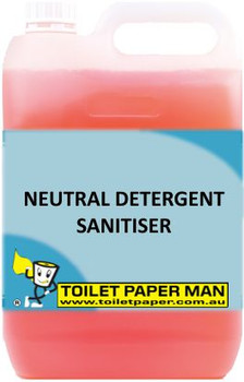 Toilet Paper Man - Neutral Detergent - Sanitiser - 5 Litre - Buy your chemicals online