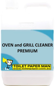 Toilet Paper Man - Oven and Grill Cleaner - Premium - 5 Litre - Buy your chemicals online