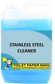 Toilet Paper Man - Stainless Steel Cleaner - 20 Litre - Buy your chemicals online