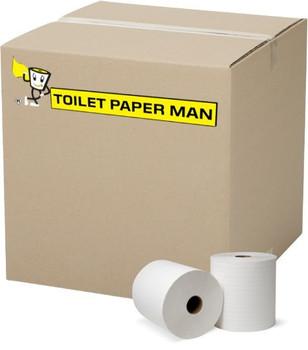Virgin Toilet Paper - 2ply 400 Sheets per Roll - 96 Rolls of Toilet Paper - Buy Bulk toilet paper online.