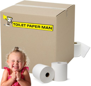 Superior Non-Scented Toilet Paper - 2ply 400 Sheets per Roll - 96 Rolls of Toilet Paper - Buy Bulk toilet paper online.