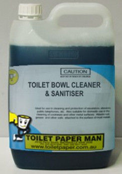 Toilet Bowl Cleaner and Sanitiser - 5 Litre