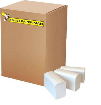 Toilet Paper Interleaved - 2ply 250 Sheets per Pack - 36 Packs of Interleaved Toilet Paper - Buy Bulk toilet paper online.