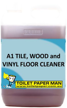 Toilet Paper Man - A1 Tile, Wood and Vinyl Floor Cleaner - 20 Litre - Buy your chemicals online