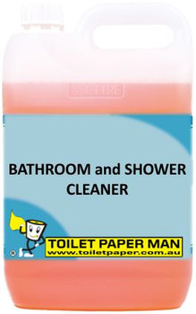 Toilet Paper Man - Bathroom and Shower Cleaner - 5 Litre - Buy your chemicals online