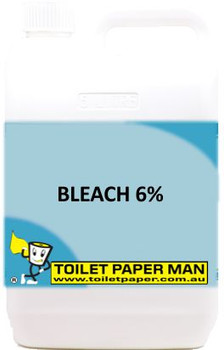 Toilet Paper Man - Bleach 6% - 5 Litre - Buy your chemicals online