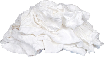 White Knit Rags - 15 kg * 15 Bags